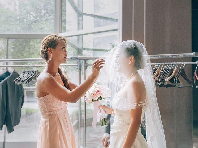 Allen and Vicky's wedding in Toronto, Ontario 2