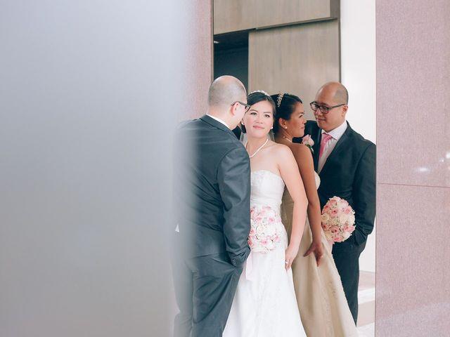 Allen and Vicky's wedding in Toronto, Ontario 9