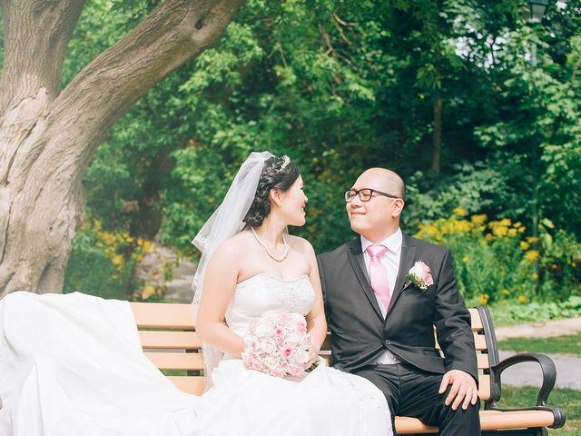 Allen and Vicky's wedding in Toronto, Ontario 37