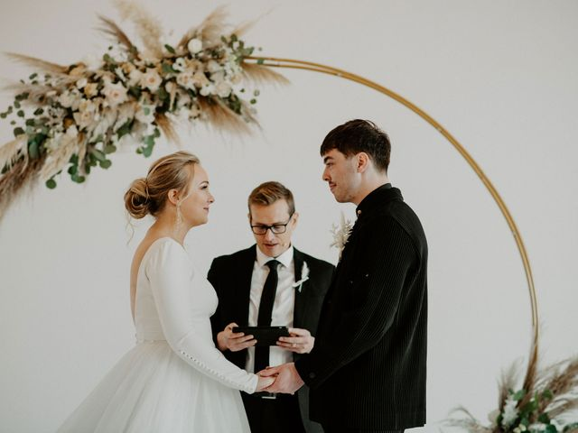 The wedding of Sydney and Spencer