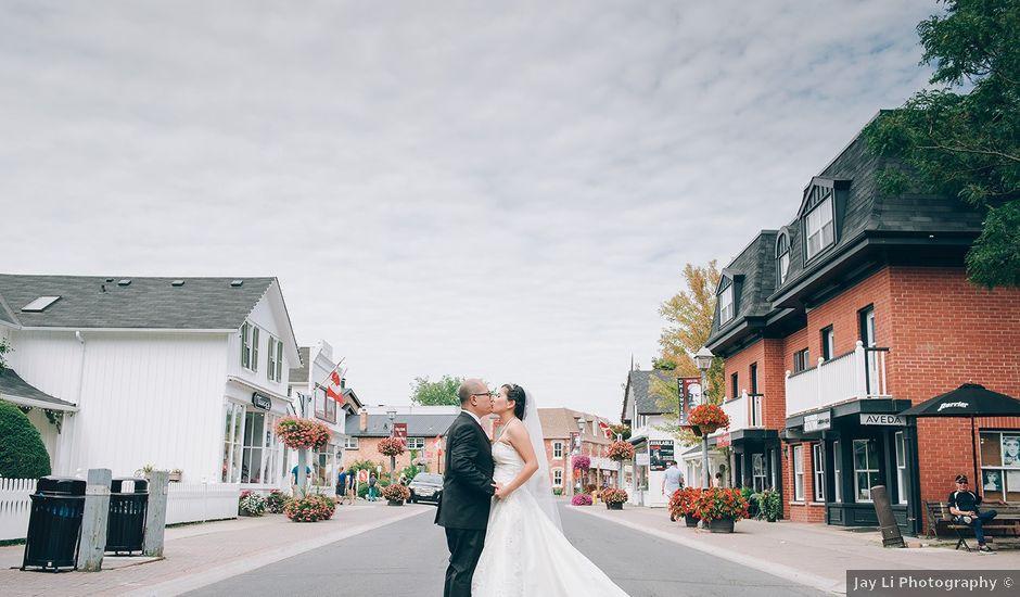 Allen and Vicky's wedding in Toronto, Ontario