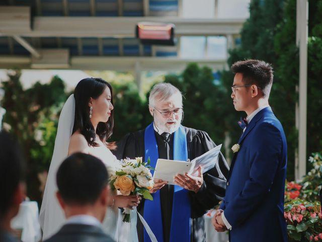 The wedding of Jessica and Elliot