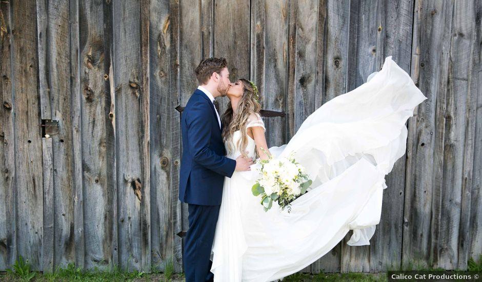 The wedding of Cayla and Mackenzie