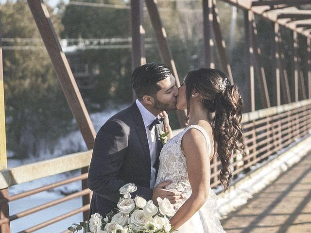 Daniel and Andrea's wedding in Elora, Ontario 3