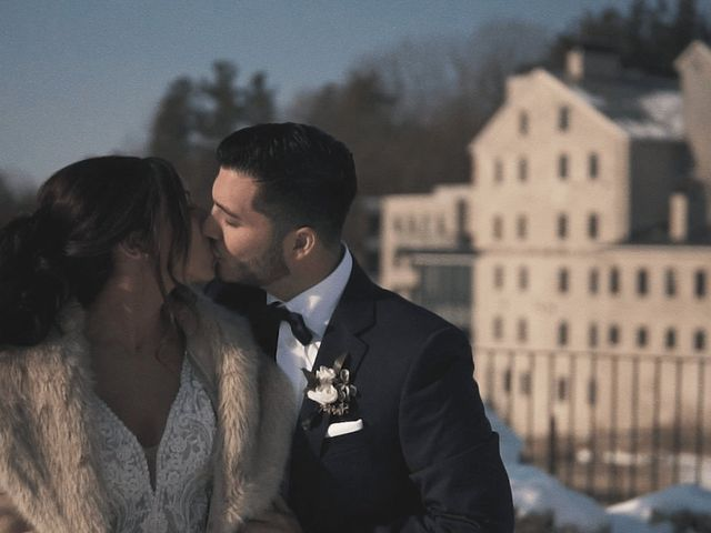 Daniel and Andrea's wedding in Elora, Ontario 1