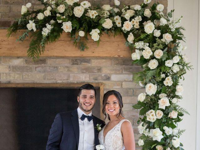 Daniel and Andrea's wedding in Elora, Ontario 8