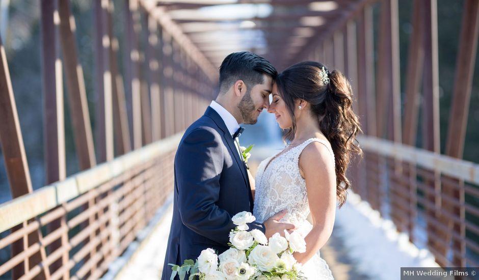 Daniel and Andrea's wedding in Elora, Ontario