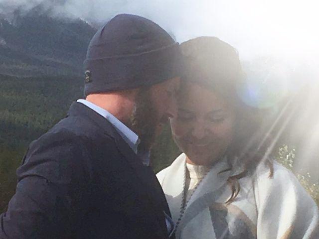 Jamie and Rachel's wedding in Canmore, Alberta 1