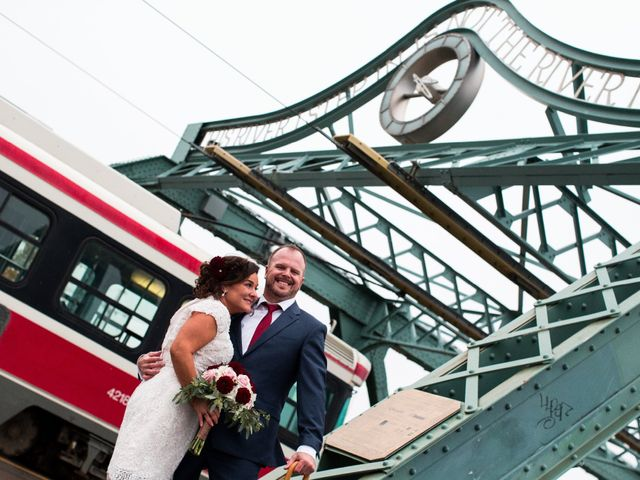 The wedding of Joanne and Warren