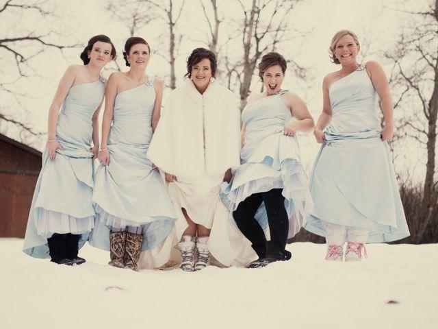 Krystal and Dan's wedding in Edmonton, Alberta 3