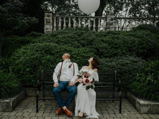 The wedding of Amanda and Bob