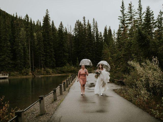 Fraser and Taylor's wedding in Kananaskis, Alberta 12