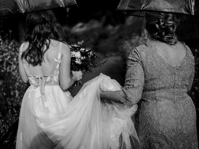 Fraser and Taylor's wedding in Kananaskis, Alberta 16