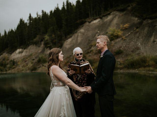 Fraser and Taylor's wedding in Kananaskis, Alberta 18
