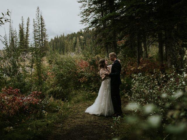 Fraser and Taylor's wedding in Kananaskis, Alberta 24