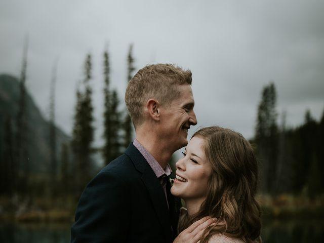 Fraser and Taylor's wedding in Kananaskis, Alberta 25