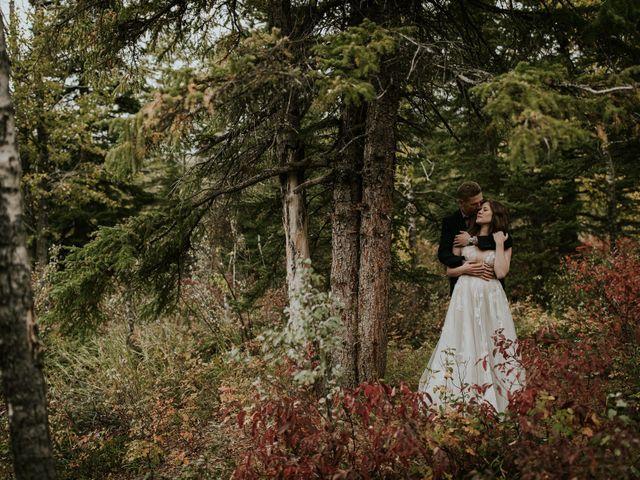 Fraser and Taylor's wedding in Kananaskis, Alberta 26