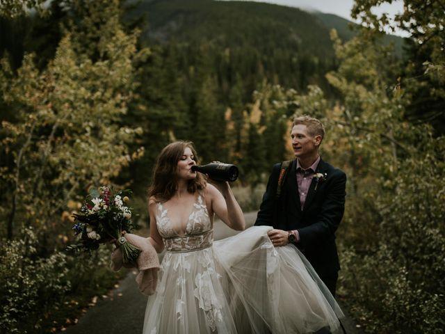Fraser and Taylor's wedding in Kananaskis, Alberta 27