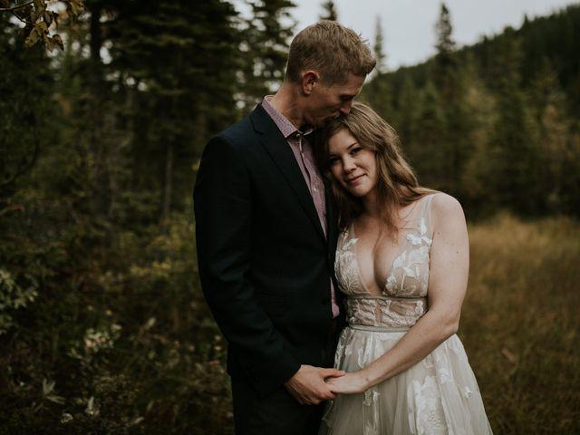 Fraser and Taylor's wedding in Kananaskis, Alberta 28