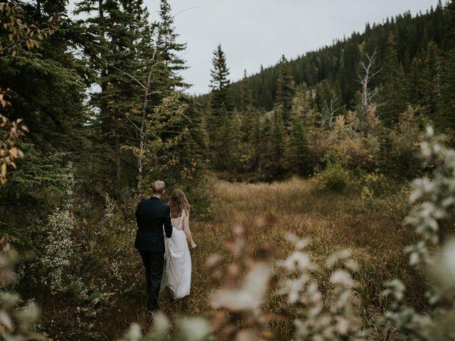 Fraser and Taylor's wedding in Kananaskis, Alberta 29