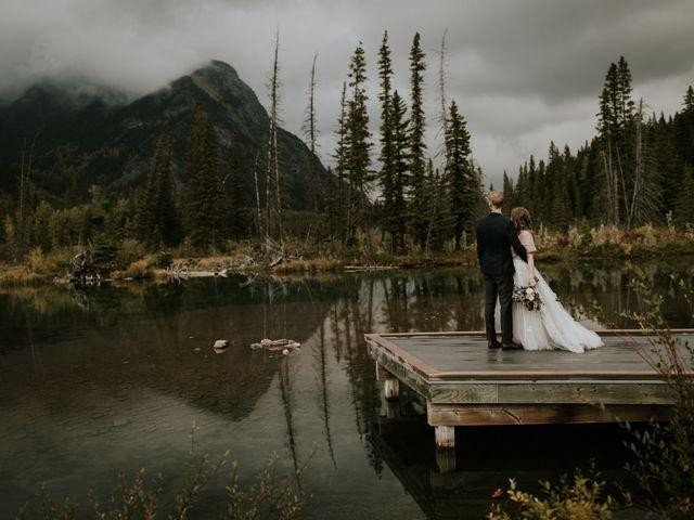 Fraser and Taylor's wedding in Kananaskis, Alberta 31