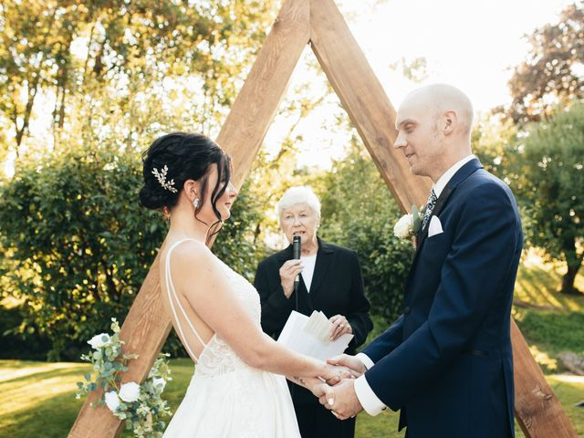 Stephanie and Joshua's wedding in Vancouver, British Columbia 7