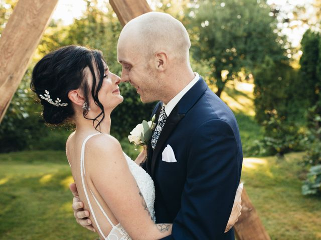 Stephanie and Joshua's wedding in Vancouver, British Columbia 8