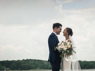 The wedding of Mark and Tina 1