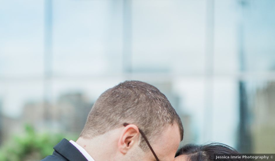 Matthew and Karen's wedding in Toronto, Ontario