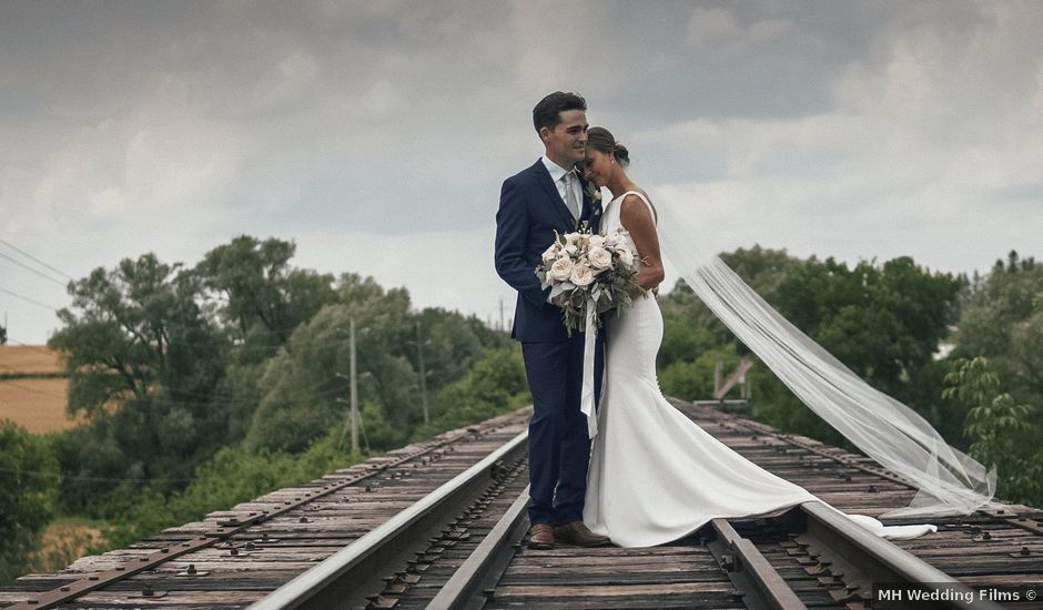 Tina and Mark's wedding in St Jacobs, Ontario