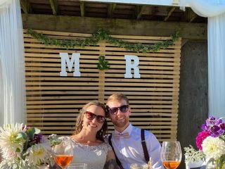 The wedding of Rachel and Matt 2