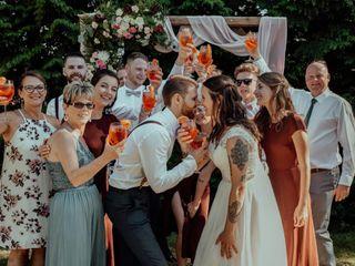 The wedding of Rachel and Matt