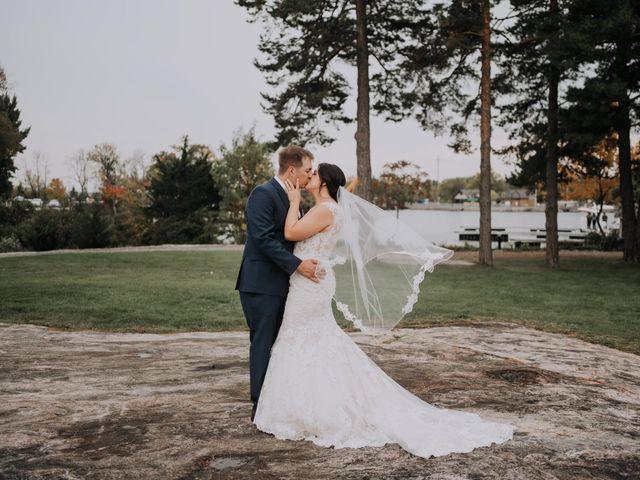 Darcy and Nikki's wedding in Port Severn, Ontario 1