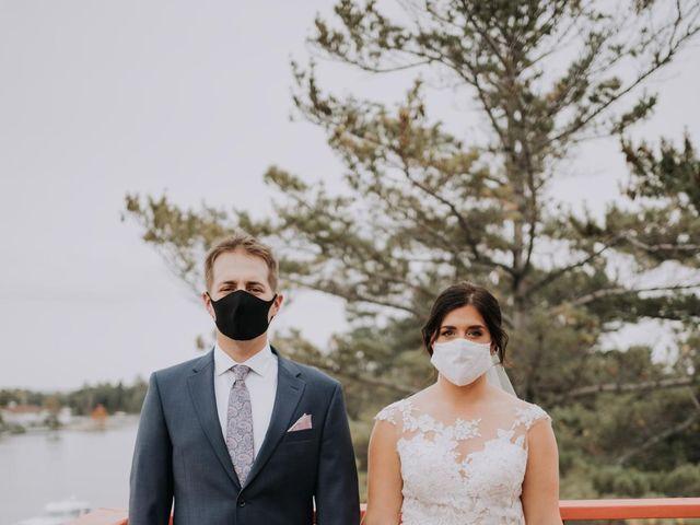 Darcy and Nikki's wedding in Port Severn, Ontario 4