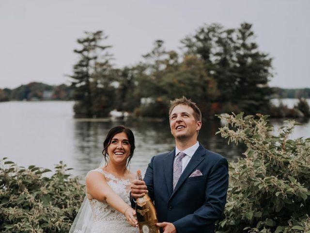 Darcy and Nikki's wedding in Port Severn, Ontario 6