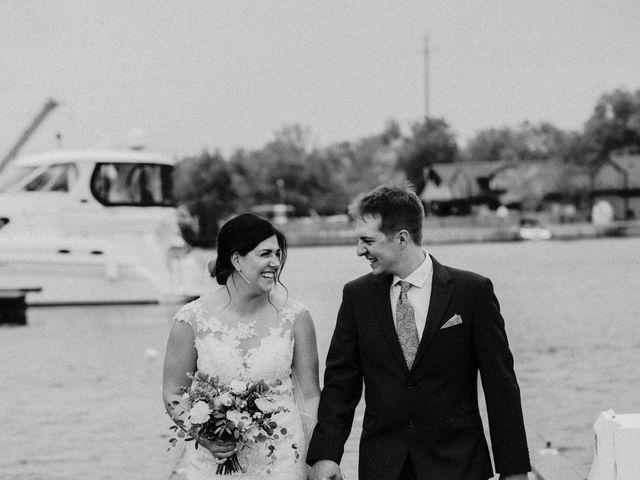 Darcy and Nikki's wedding in Port Severn, Ontario 7