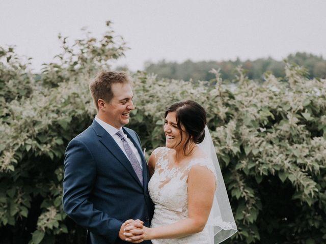 Darcy and Nikki's wedding in Port Severn, Ontario 2