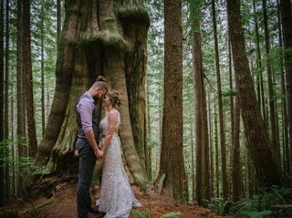 The wedding of Sarah and Cameron