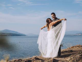 The wedding of Alyssa and Sheldon