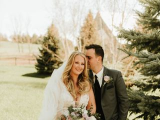 The wedding of Joanna and David
