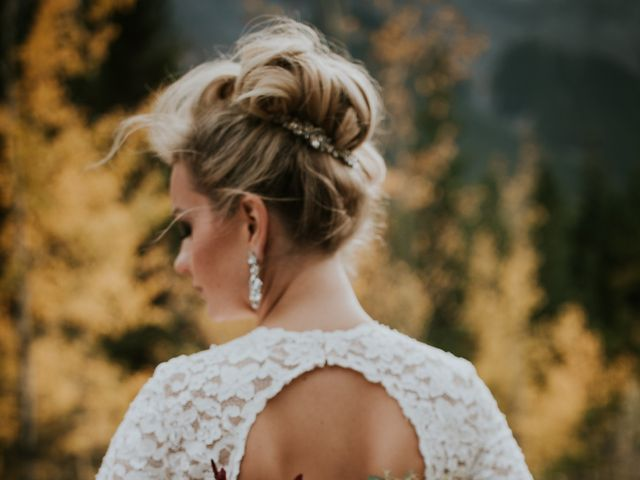 Brad and Anna's wedding in Canmore, Alberta 10