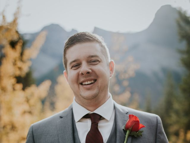 Brad and Anna's wedding in Canmore, Alberta 12