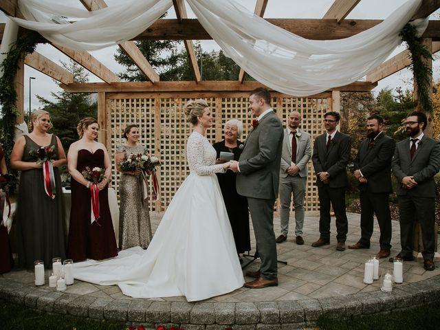 Brad and Anna's wedding in Canmore, Alberta 14