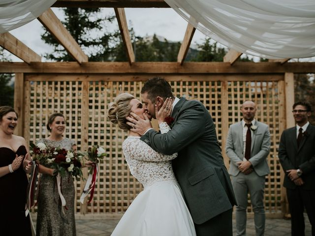 Brad and Anna's wedding in Canmore, Alberta 2