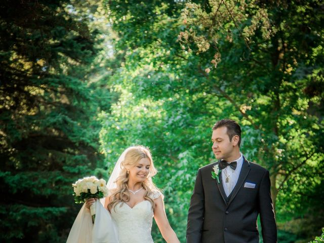 The wedding of Oksana and Mike
