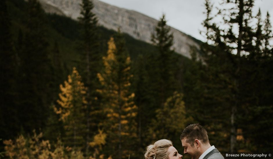 Brad and Anna's wedding in Canmore, Alberta