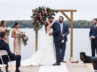The wedding of Adam and Jessica