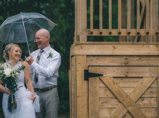The wedding of Sarah and Nick 1