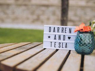 The wedding of Tesla and Darren 3