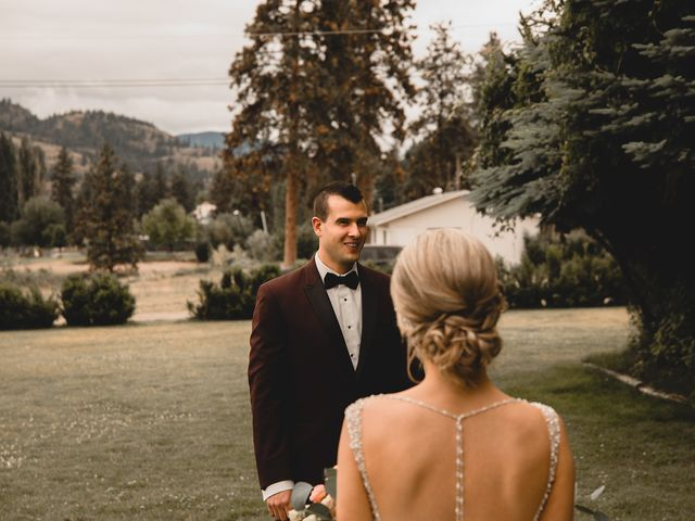 Alex and Charisse's wedding in Penticton, British Columbia 33